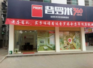 普罗米全房吊顶湖南永州东安专卖店