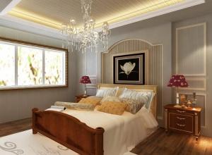 旭都集成墙面现代简约风卧室装修图集