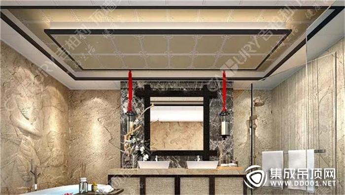 打造完美新潮浴室,从安装吉柏利集成吊顶开始!