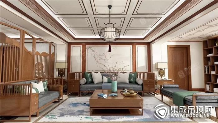 世纪豪门吊顶墙面为你展现四款不同风格的设计!