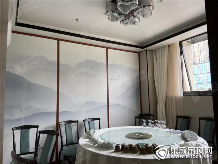 世纪豪门吊顶墙面传递一种生活意境和生活态度!