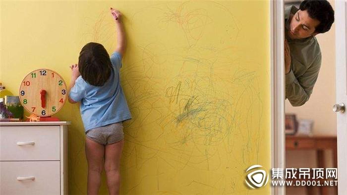 德莱宝全屋定制顶墙给孩子一个肆意创作的空间!