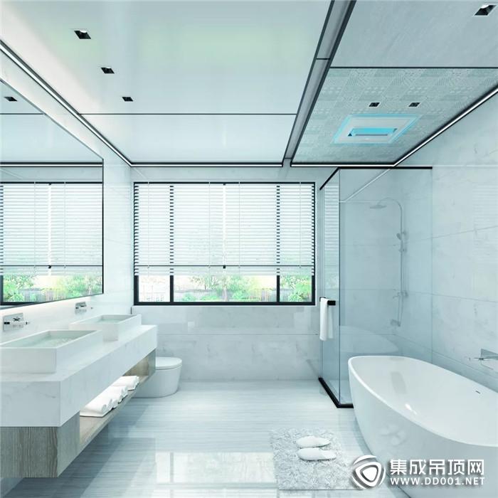 奥华御尊1号·浴室暖空调快速升温,畅享冬季时光!