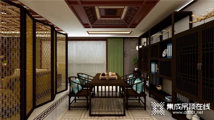 奥华打造属于你的中式书房,为生活增添书香气质!
