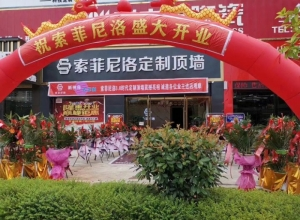 索菲尼洛复式吊顶江西会昌县专卖店