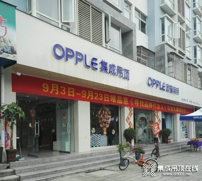 OPPLE集成吊顶陕西汉中专卖店