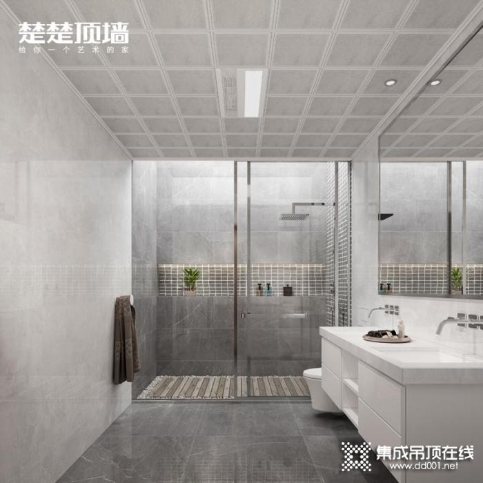 楚楚顶墙2020卫浴吊顶装修效果图