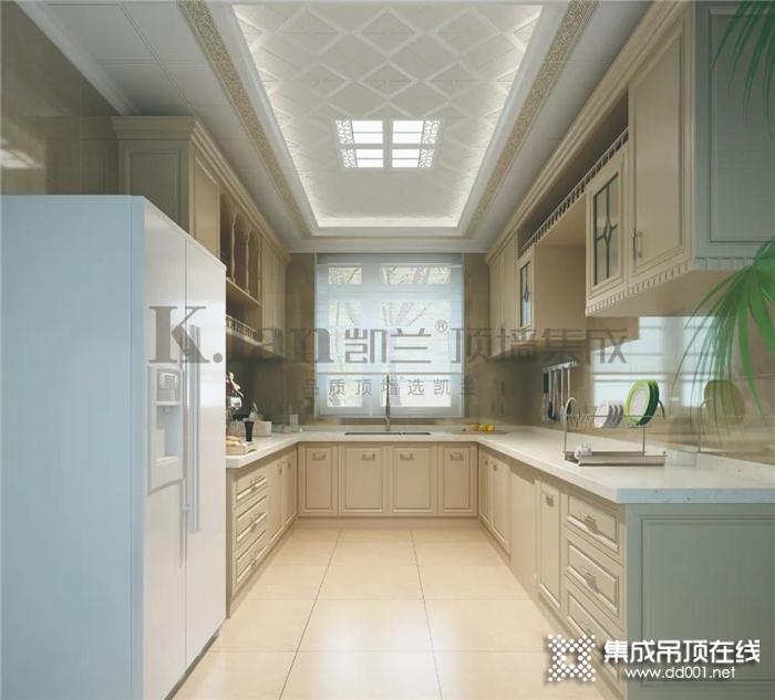 为什么别人家的厨房都颜值与实力并存,因为他们装修都选择凯兰!