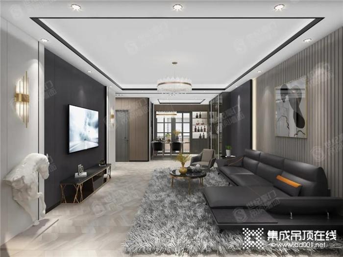 世纪豪门优秀设计方案:意式轻奢风私宅,灰调生活的高级质感