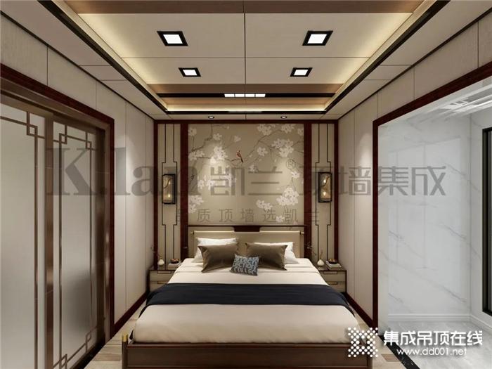 凯兰新中式装修风格,中式与现代完美融合,舒适而又古韵大气