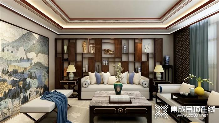 奥华中式设计以静谧优雅的风格诠释现代中式的意韵,营造感性的美学姿态