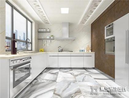 厨房装修选择品格集成吊顶,大大的提升生活幸福感