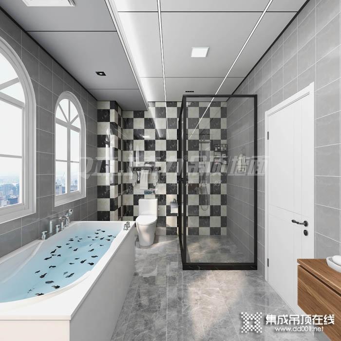 奇力吊顶浴室蜂窝板图片,铝大板装修效果图