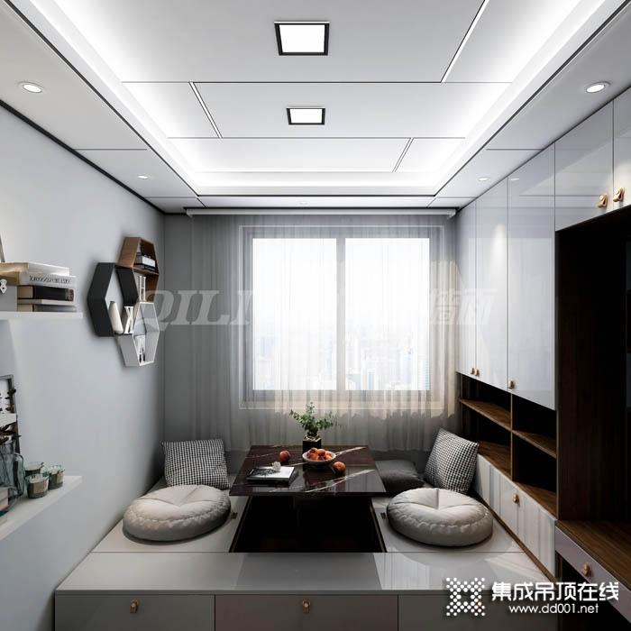 奇力卧室集成吊顶图片,卧室大板吊顶装修效果图