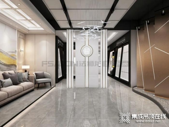 法狮龙客厅吊顶图片 简欧风格装修效果图