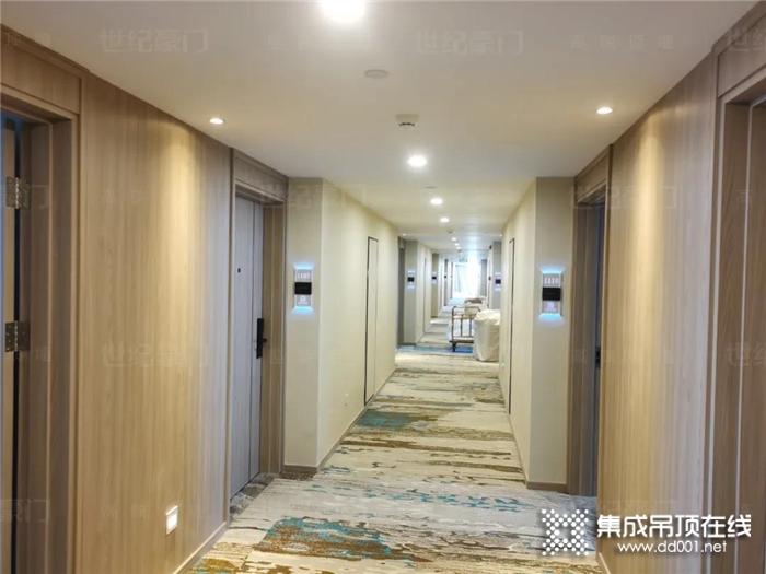 世纪豪门装修项目赏析:浙勤西溪宾馆