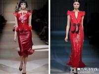 赛华演绎的中国红,展现极具都市摩登的东方之风采