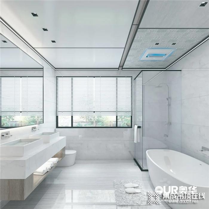 奥华御尊1号·浴室暖空调,开启你的秋冬硬核洗澡模式