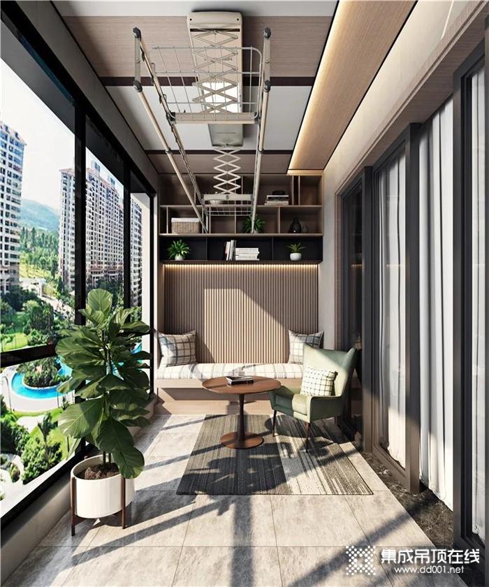 """海创多功能阳台,让你的家多一个""""客厅"""""""