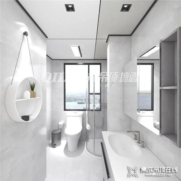 想要高颜值的卫浴空间,怎么能少得了奇力蜂窝大板呢