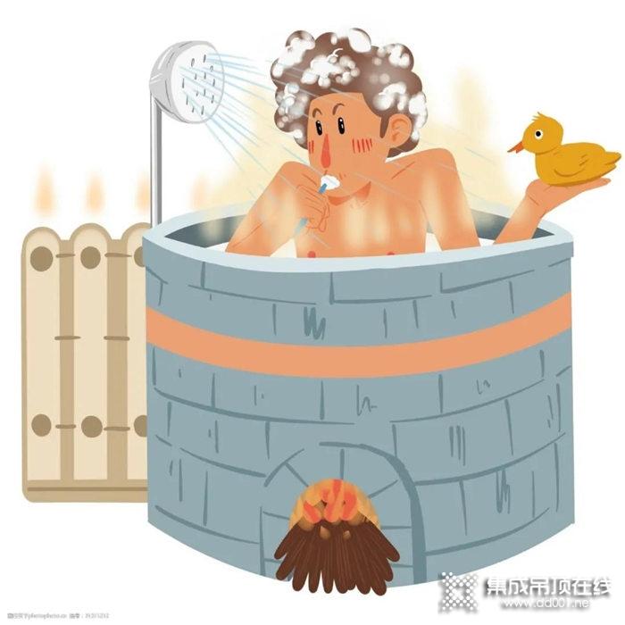 冬天洗澡,凯兰浴室取暖器给你温暖舒适沐浴体验