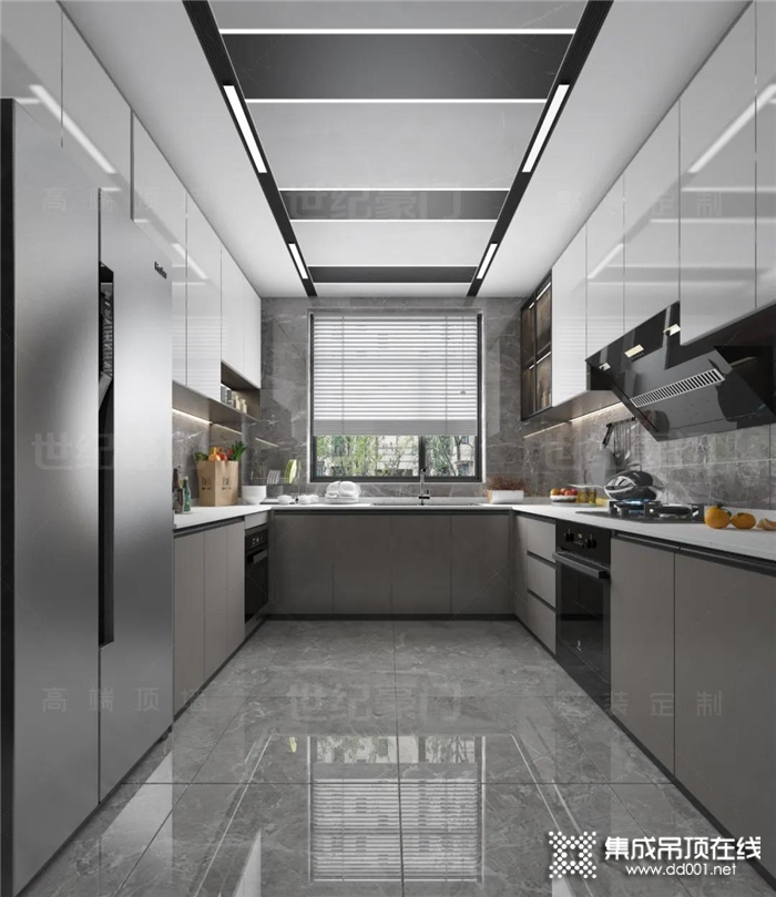世纪豪门天境系列吊顶 ,令你置身厨房便怦然心动
