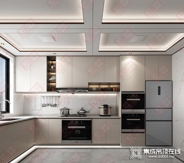 金盾顶美坚固顶墙厨房装修效果图
