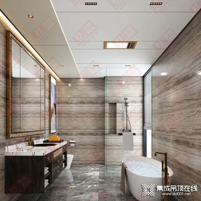 金盾顶美坚固顶墙卫浴吊顶装修效果图