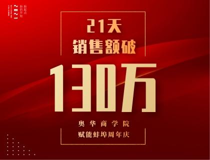 21天销售额破130万!奥华商学院赋能蚌埠周年庆